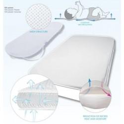 Protectie pentru saltea cu aerisire Oxi Pad 60x120 Baby Matex