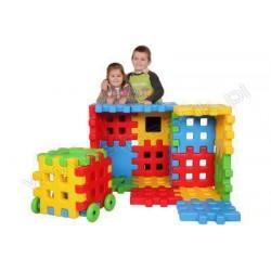 SET CONSTRUCTIE EXTERIOR BUILDING BLOCKS