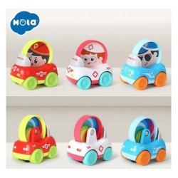 SET 3 VEHICULE Hola toys 3129B