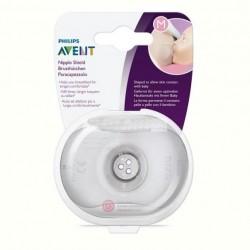 Protector de mamelon SCF153/03 Avent marimea M