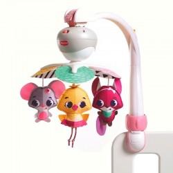 Carusel muzical portabil Tiny Princess Tales, Ia-ma cu tine TL13055068