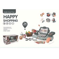 Casa de marcat cu accesorii Happy shopping RAMIZ ZDZ.888K