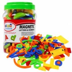 Cifre si litere magnetice 128 lemente Ramiz ZKP.1152A